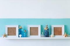 Summer interior decor stock images