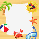 Summer Invitation Royalty Free Stock Images