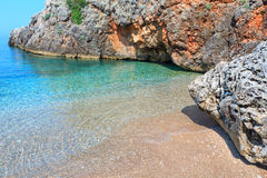 Summer Ionian sea coast, Albania. Stock Photography