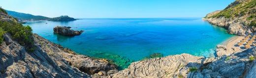 Summer Ionian sea coast, Albania. Stock Photography