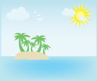 Summer island Stock Photos