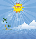 Summer island Royalty Free Stock Images