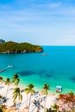 Summer island of Thailand beach Royalty Free Stock Image