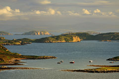 Summer islands, Coigach, Scotland Royalty Free Stock Photo