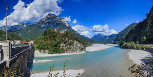 Summer Italian Dolomites Royalty Free Stock Photos
