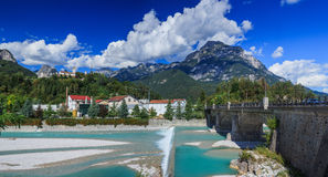 Summer Italian Dolomites Royalty Free Stock Photography
