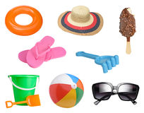 Summer items Stock Photo