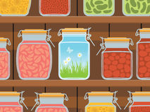 Summer in the jar Royalty Free Stock Photo