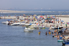 Summer at the Jersey Shore Stock Images
