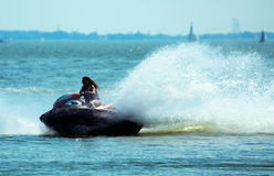 Summer jetski Fun Royalty Free Stock Image