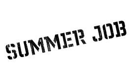 Summer Job rubber stamp Stock Photography