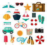 Summer journey Stock Photography