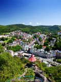 Summer Karlovy Vary Royalty Free Stock Image