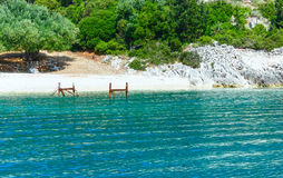 Summer Kefalonia coast view (Greece) Stock Photo
