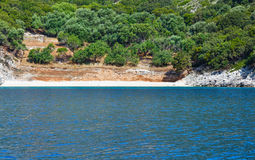 Summer Kefalonia coast view (Greece) Royalty Free Stock Images