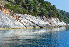 Summer Kefalonia coast view (Greece) Stock Images