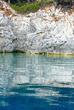 Summer Kefalonia coast view (Greece) Royalty Free Stock Image