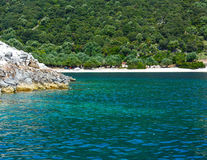 Summer Kefalonia coast view (Greece) Stock Photography
