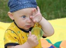 The summer kid Stock Photo
