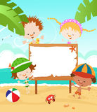 Summer kids Royalty Free Stock Image