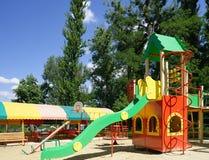 Summer kids playground Stock Images
