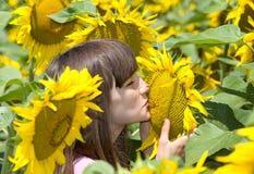 Summer kiss Royalty Free Stock Image