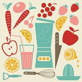 Summer kitchen Royalty Free Stock Photography