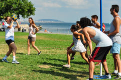 Free Summer Korfball Event In Istanbul Stock Photos - 42687923