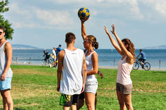 Free Summer Korfball Event In Istanbul Stock Image - 42688291
