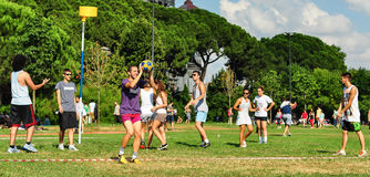 Free Summer Korfball Event In Istanbul Royalty Free Stock Photography - 42689467