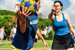 Summer Korfball Event In Istanbul Stock Image