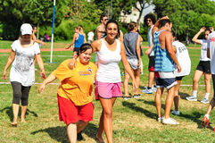 Summer Korfball Event In Istanbul Stock Photo