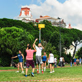 Summer Korfball Event In Istanbul Stock Images
