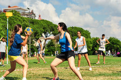Summer Korfball Event In Istanbul Royalty Free Stock Photography
