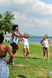 Summer Korfball Event In Istanbul Stock Photos