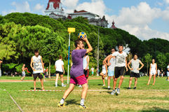 Summer Korfball Event In Istanbul Royalty Free Stock Image