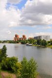 Summer Krasnoyarsk landscape Stock Photos