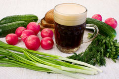 Summer Kvass Stock Photography