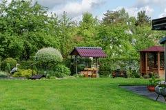 Summer l European garden Stock Image