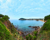 Summer La Fosca beach, Palamos, Spain. Stock Photography