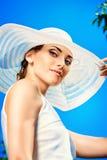 Summer lady Stock Image