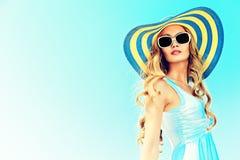 Summer lady Stock Photos