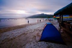 Summer at Laiya, San Juan, Batagas.  stock images