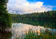 Summer lake Royalty Free Stock Photography