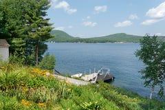 Summer at the lake Stock Image