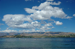 Summer at Lake Chelan Royalty Free Stock Photo