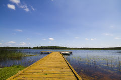 Summer Lake, Pierce Stock Images