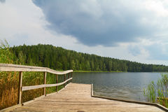 Summer Lake, Pierce Royalty Free Stock Photos