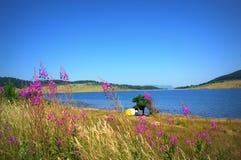 Summer lake vacation Royalty Free Stock Photo