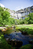 Summer landscape. Beautiful landscape in Yorkshire Dales National Park in England Stock Photography